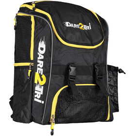 Dare2Tri Transition Zwem- en Tri Transition rugzak 33l geel/zwart